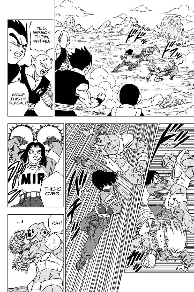 Dragon Ball Super Chapter 57  Online Free Manga Read Image 26