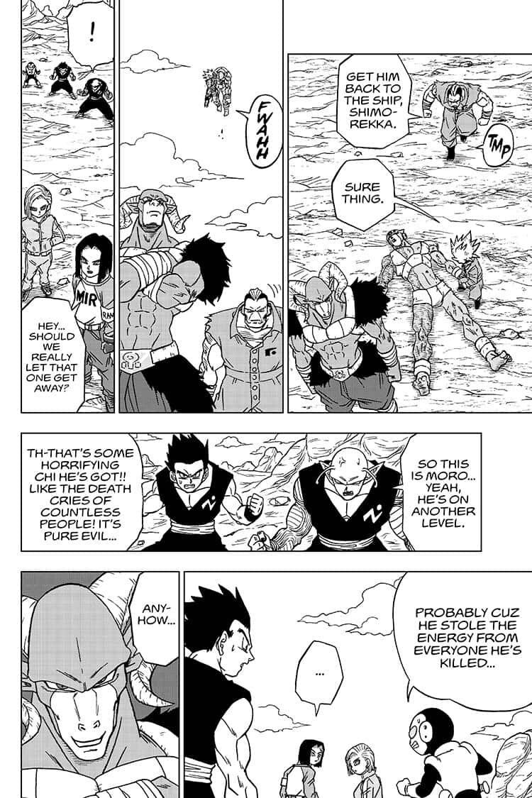 Dragon Ball Super Chapter 57  Online Free Manga Read Image 30