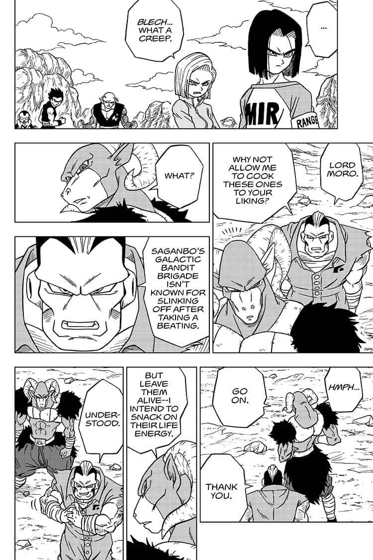 Dragon Ball Super Chapter 57  Online Free Manga Read Image 32