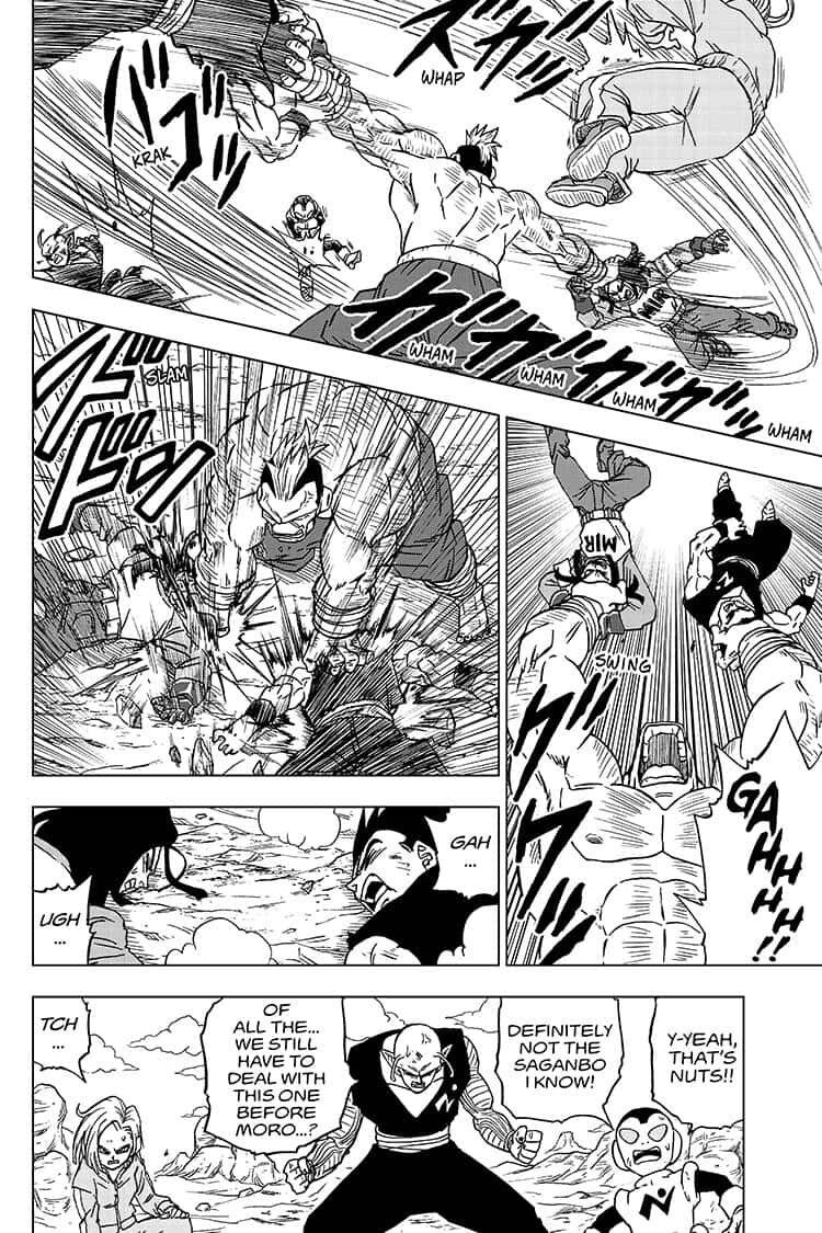 Dragon Ball Super Chapter 57  Online Free Manga Read Image 38