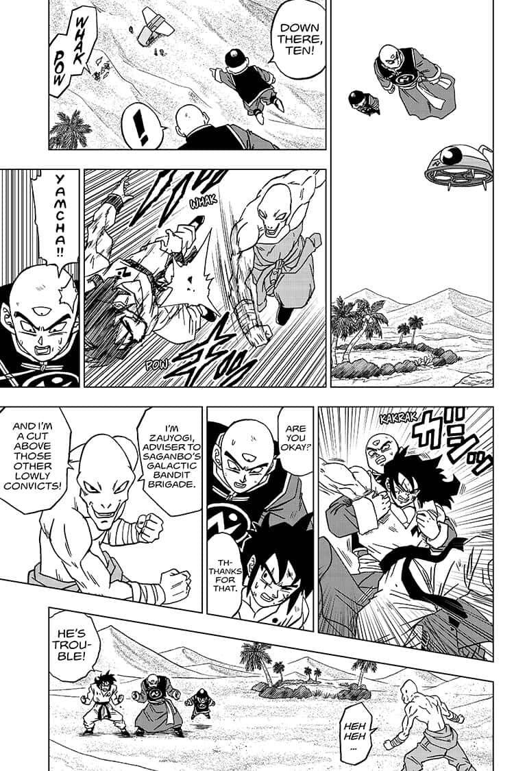 Dragon Ball Super Chapter 57  Online Free Manga Read Image 39