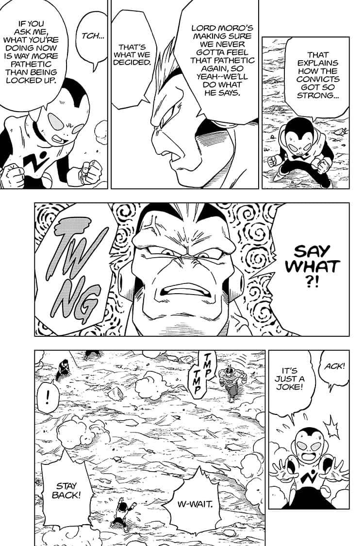 Dragon Ball Super Chapter 58  Online Free Manga Read Image 15