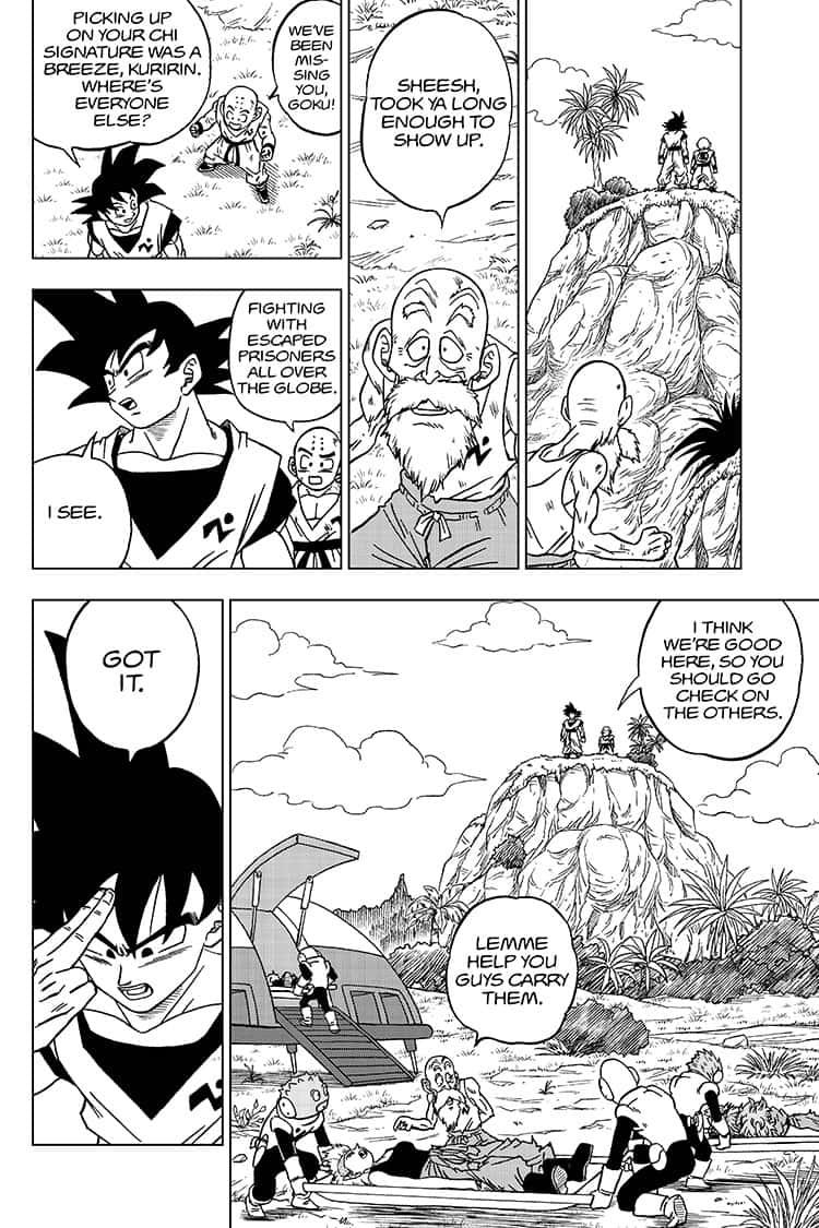 Dragon Ball Super Chapter 58  Online Free Manga Read Image 2
