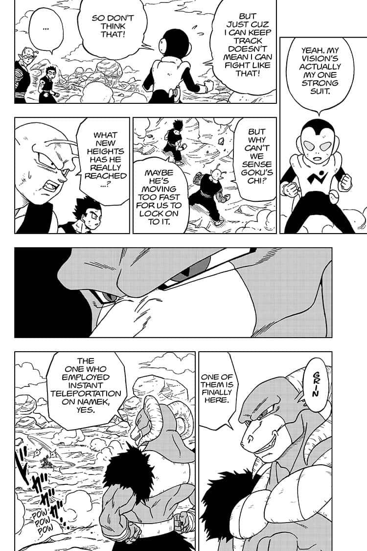 Dragon Ball Super Chapter 58  Online Free Manga Read Image 20