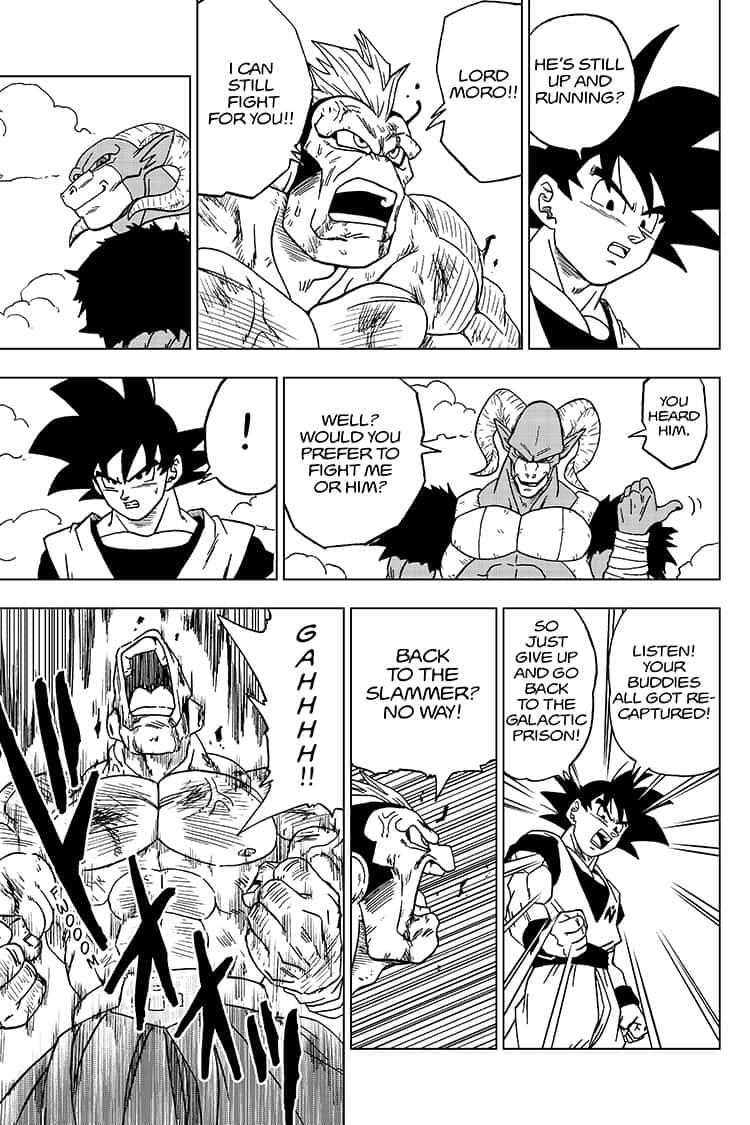 Dragon Ball Super Chapter 58  Online Free Manga Read Image 25