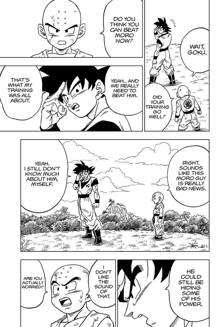 Dragon Ball Super Chapter 58  Online Free Manga Read Image 3