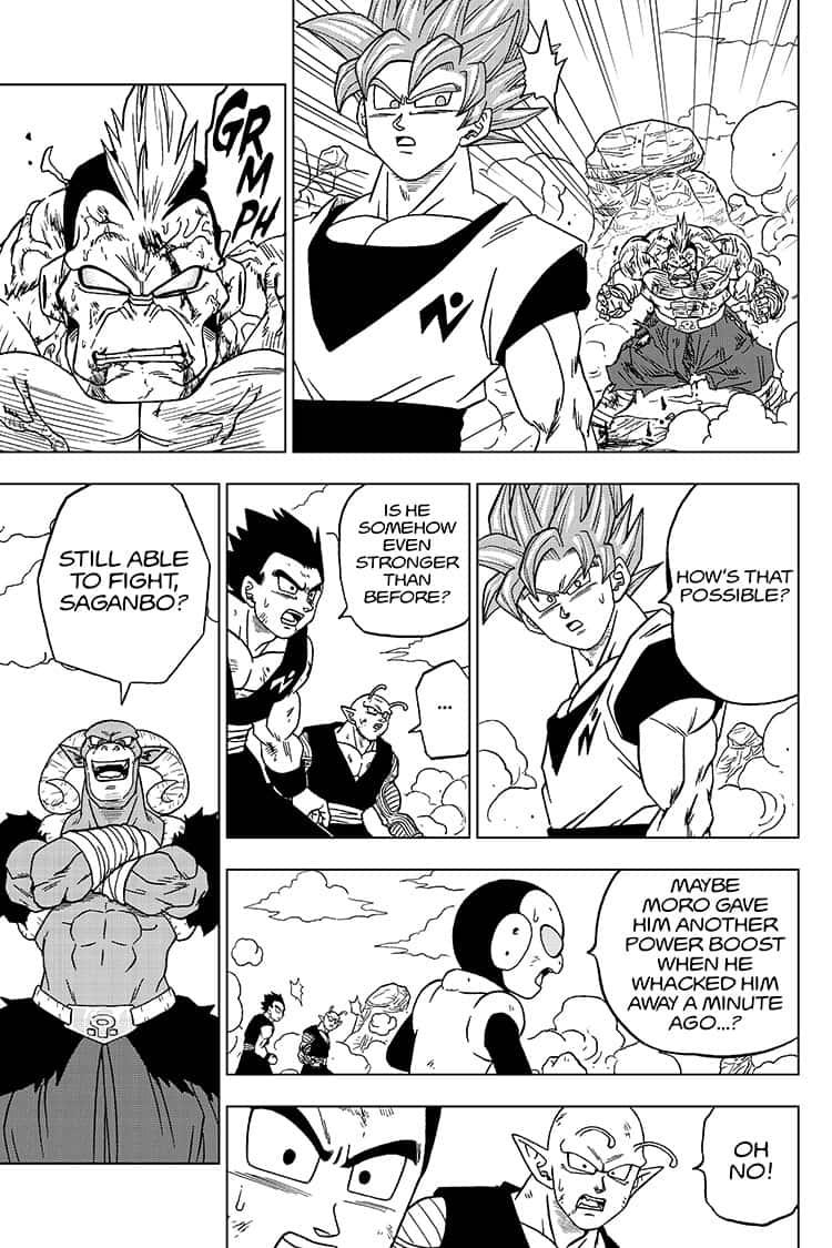 Dragon Ball Super Chapter 58  Online Free Manga Read Image 35