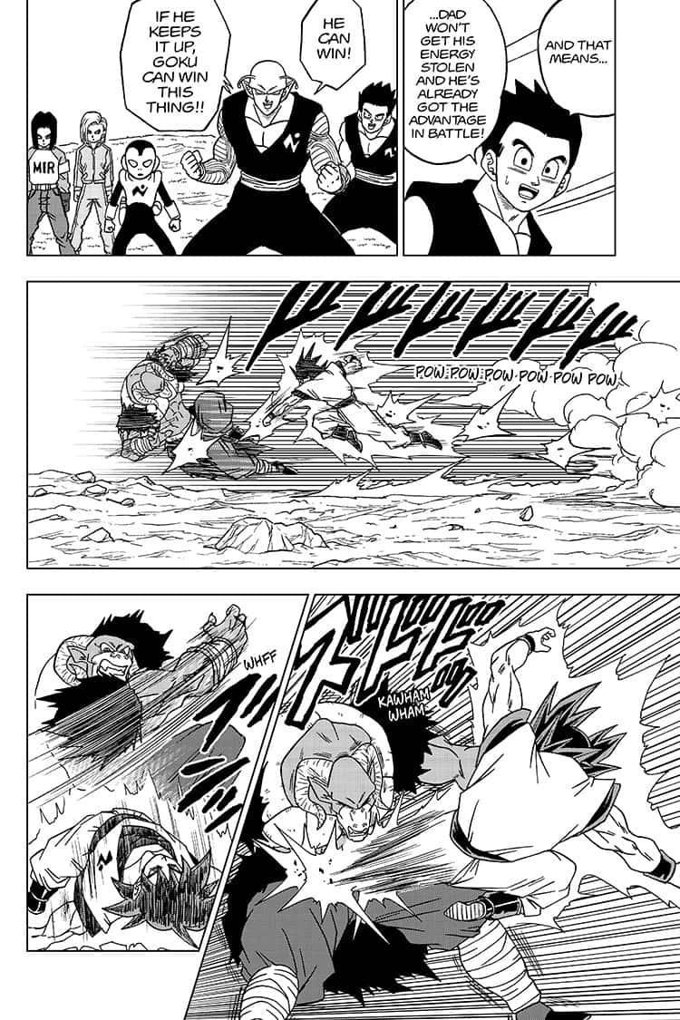 Dragon Ball Super Chapter 59  Online Free Manga Read Image 32