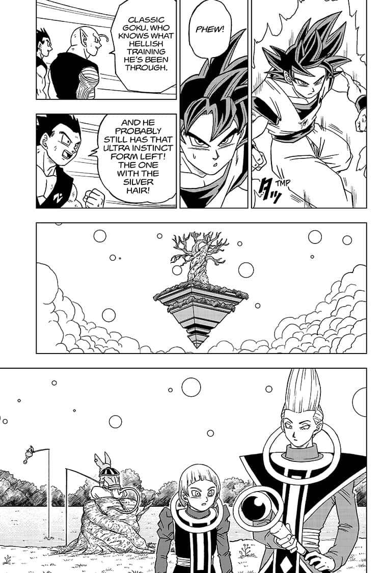 Dragon Ball Super Chapter 59  Online Free Manga Read Image 35