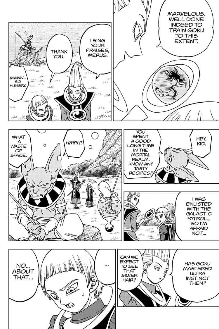 Dragon Ball Super Chapter 59  Online Free Manga Read Image 36