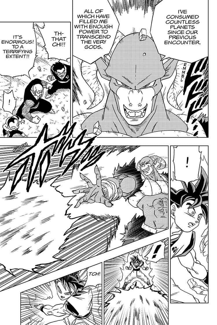 Dragon Ball Super Chapter 59  Online Free Manga Read Image 41
