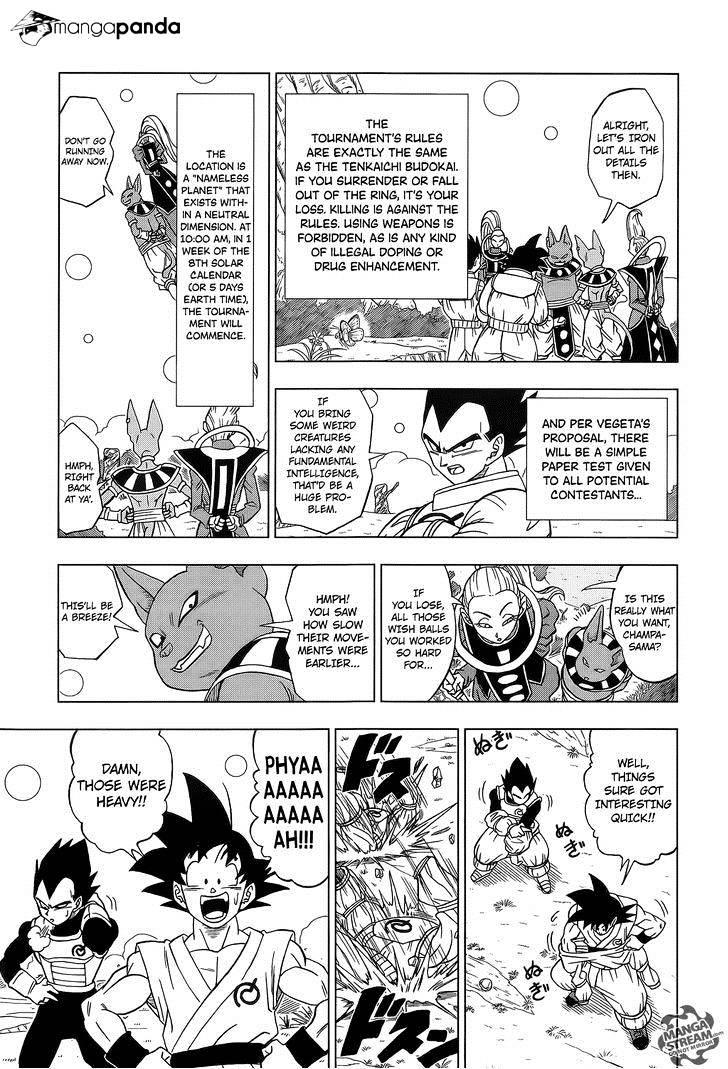 Dragon Ball Super Chapter 6  Online Free Manga Read Image 14
