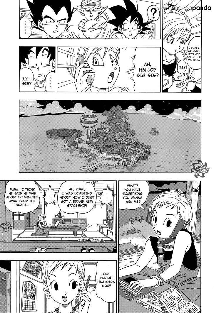 Dragon Ball Super Chapter 6  Online Free Manga Read Image 18