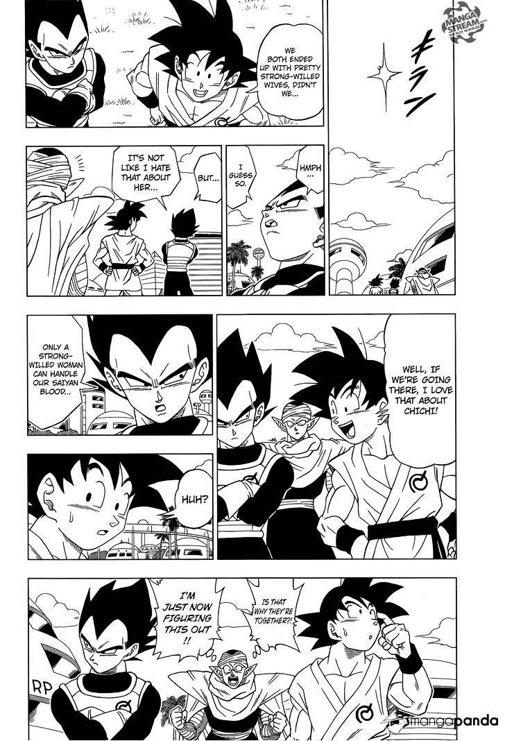 Dragon Ball Super Chapter 6  Online Free Manga Read Image 21