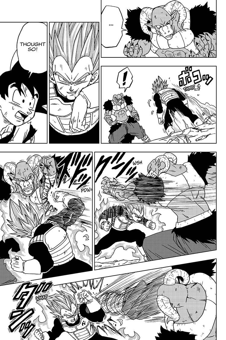 Dragon Ball Super Chapter 61  Online Free Manga Read Image 11