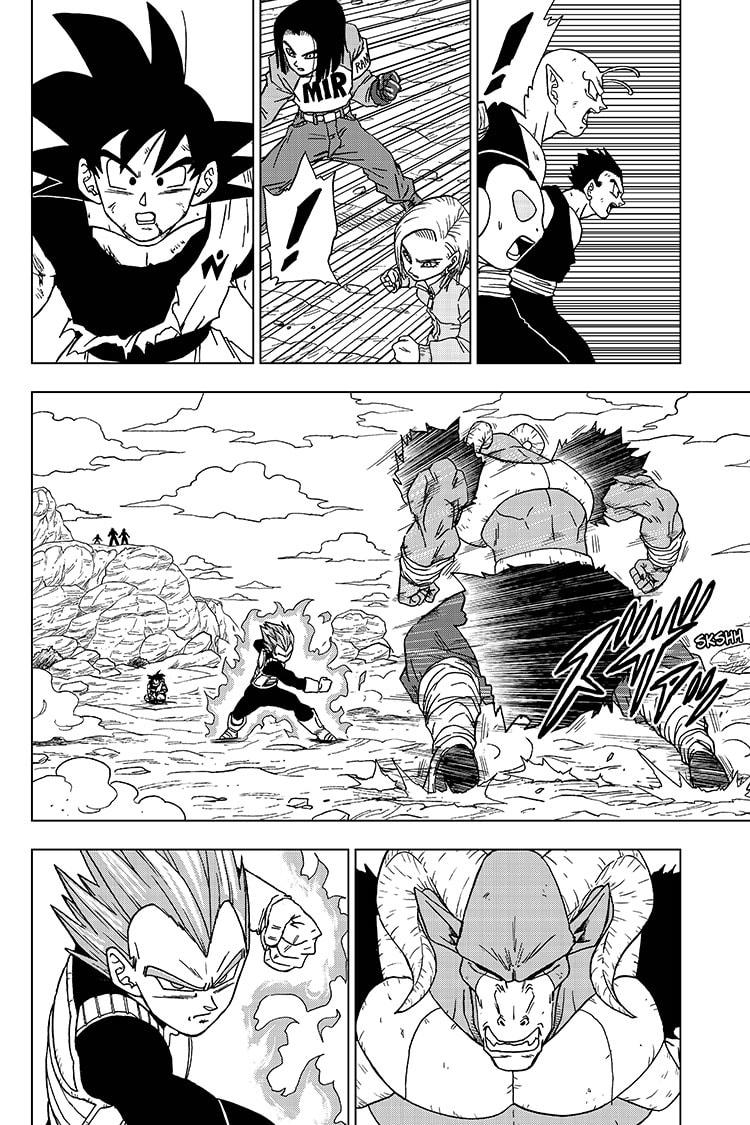 Dragon Ball Super Chapter 61  Online Free Manga Read Image 2