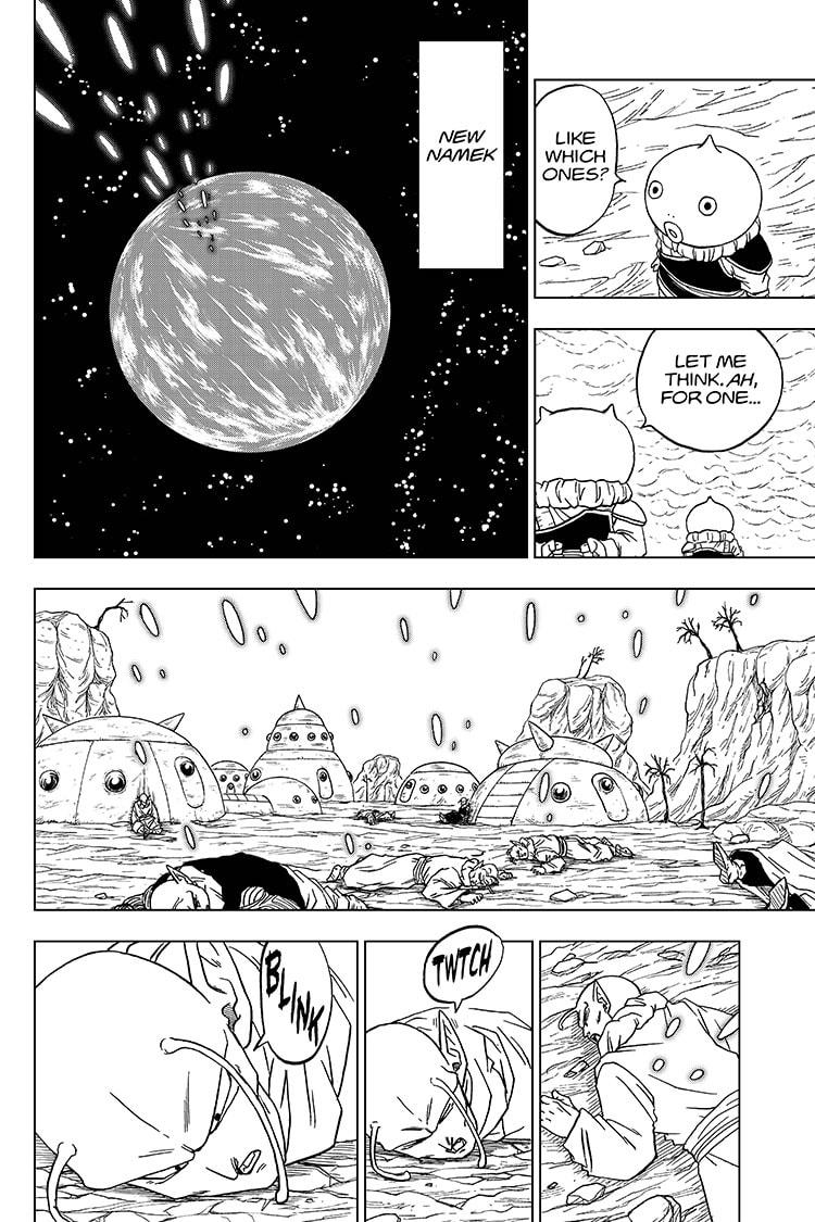 Dragon Ball Super Chapter 61  Online Free Manga Read Image 26