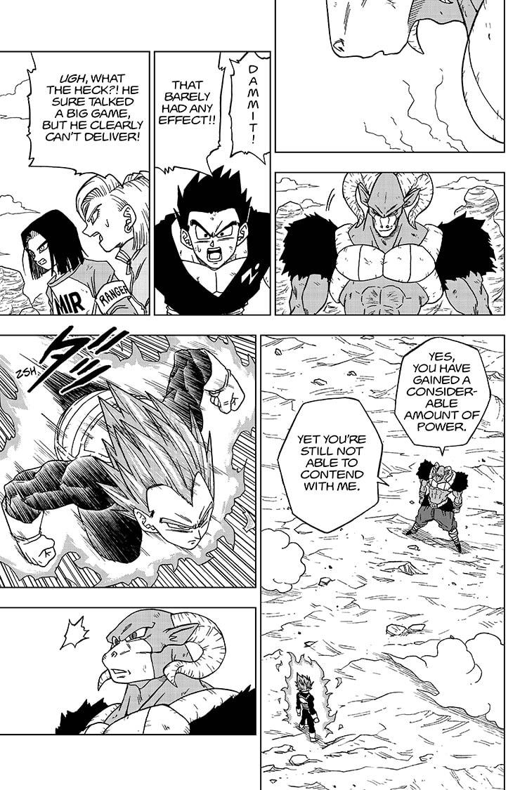 Dragon Ball Super Chapter 61  Online Free Manga Read Image 3