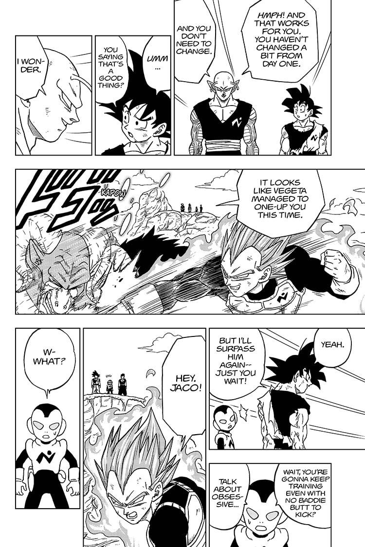 Dragon Ball Super Chapter 61  Online Free Manga Read Image 30