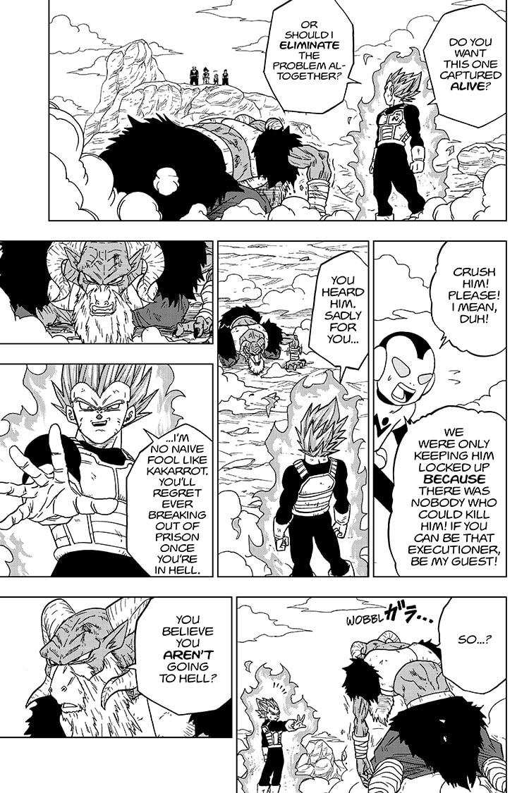 Dragon Ball Super Chapter 61  Online Free Manga Read Image 31
