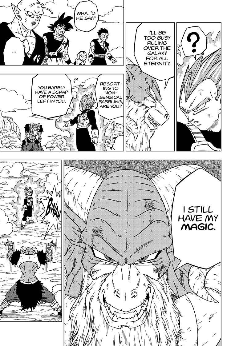 Dragon Ball Super Chapter 61  Online Free Manga Read Image 33