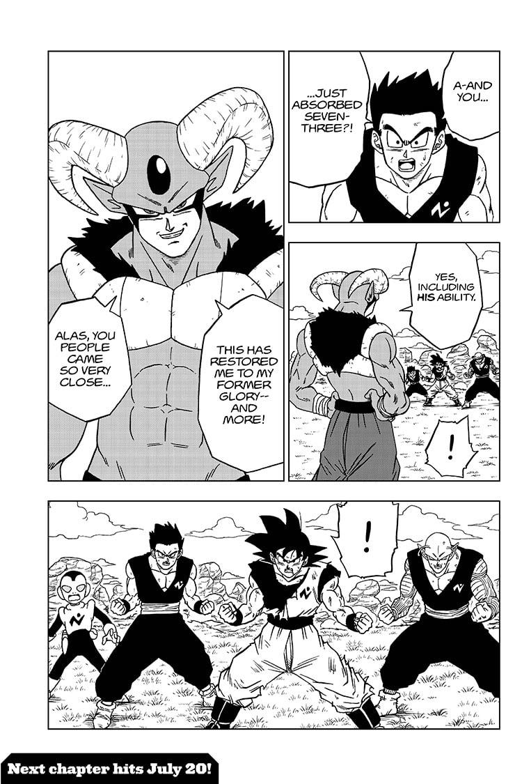 Dragon Ball Super Chapter 61  Online Free Manga Read Image 45