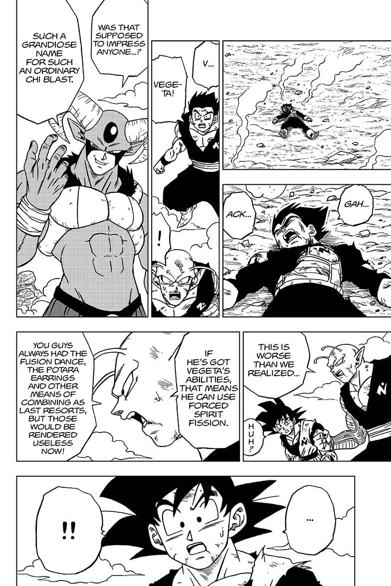 Dragon Ball Super Chapter 62  Online Free Manga Read Image 12
