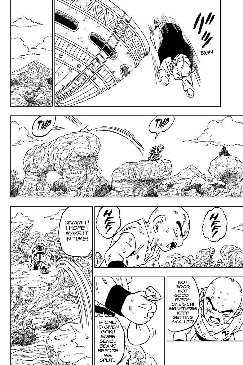 Dragon Ball Super Chapter 62  Online Free Manga Read Image 14