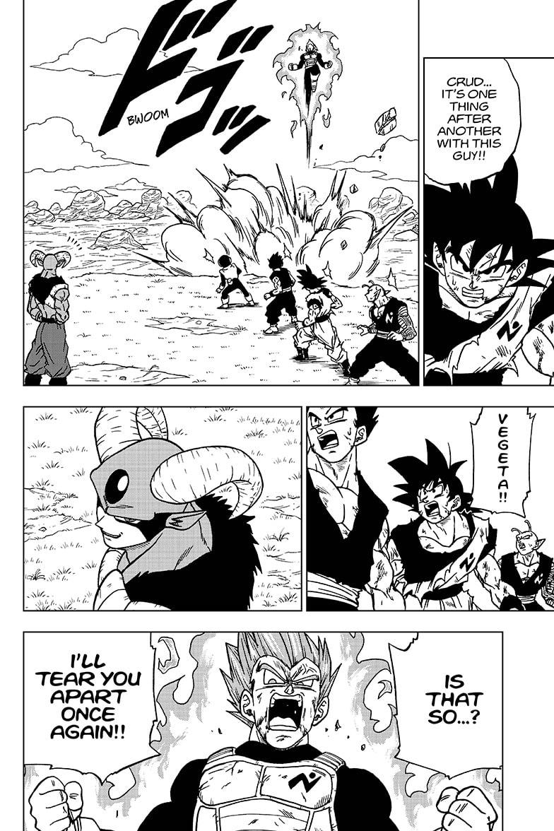 Dragon Ball Super Chapter 62  Online Free Manga Read Image 2