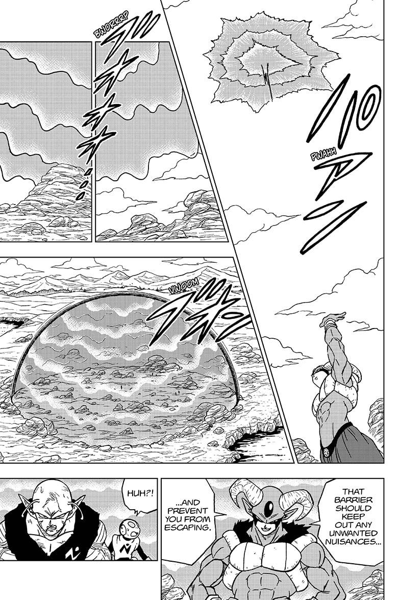 Dragon Ball Super Chapter 62  Online Free Manga Read Image 33