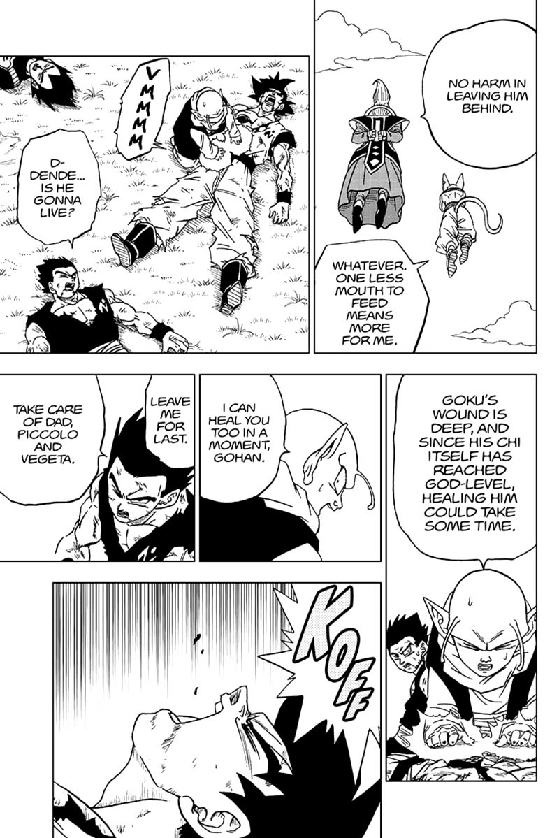 Dragon Ball Super Chapter 63  Online Free Manga Read Image 13
