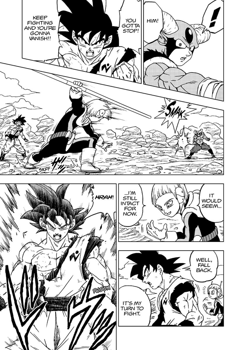 Dragon Ball Super Chapter 63  Online Free Manga Read Image 21