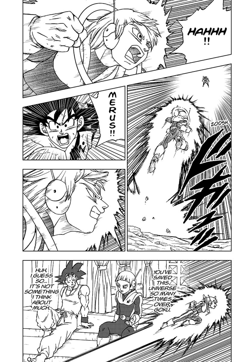 Dragon Ball Super Chapter 63  Online Free Manga Read Image 37