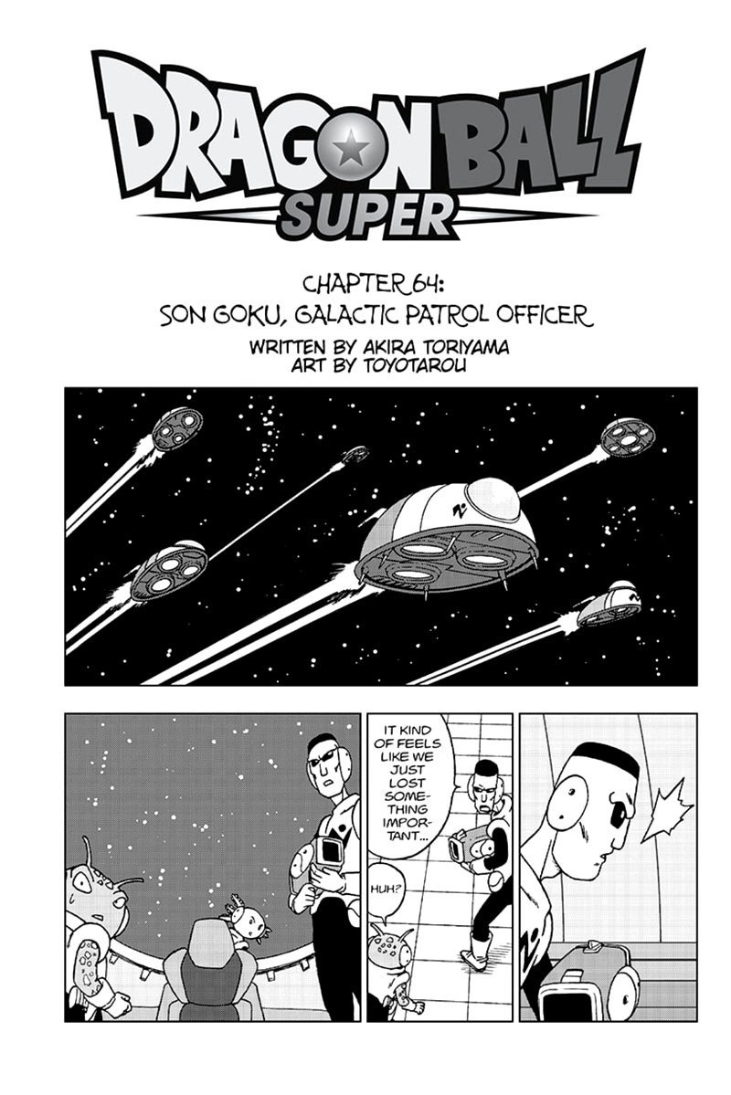 Dragon Ball Super Chapter 64  Online Free Manga Read Image 1