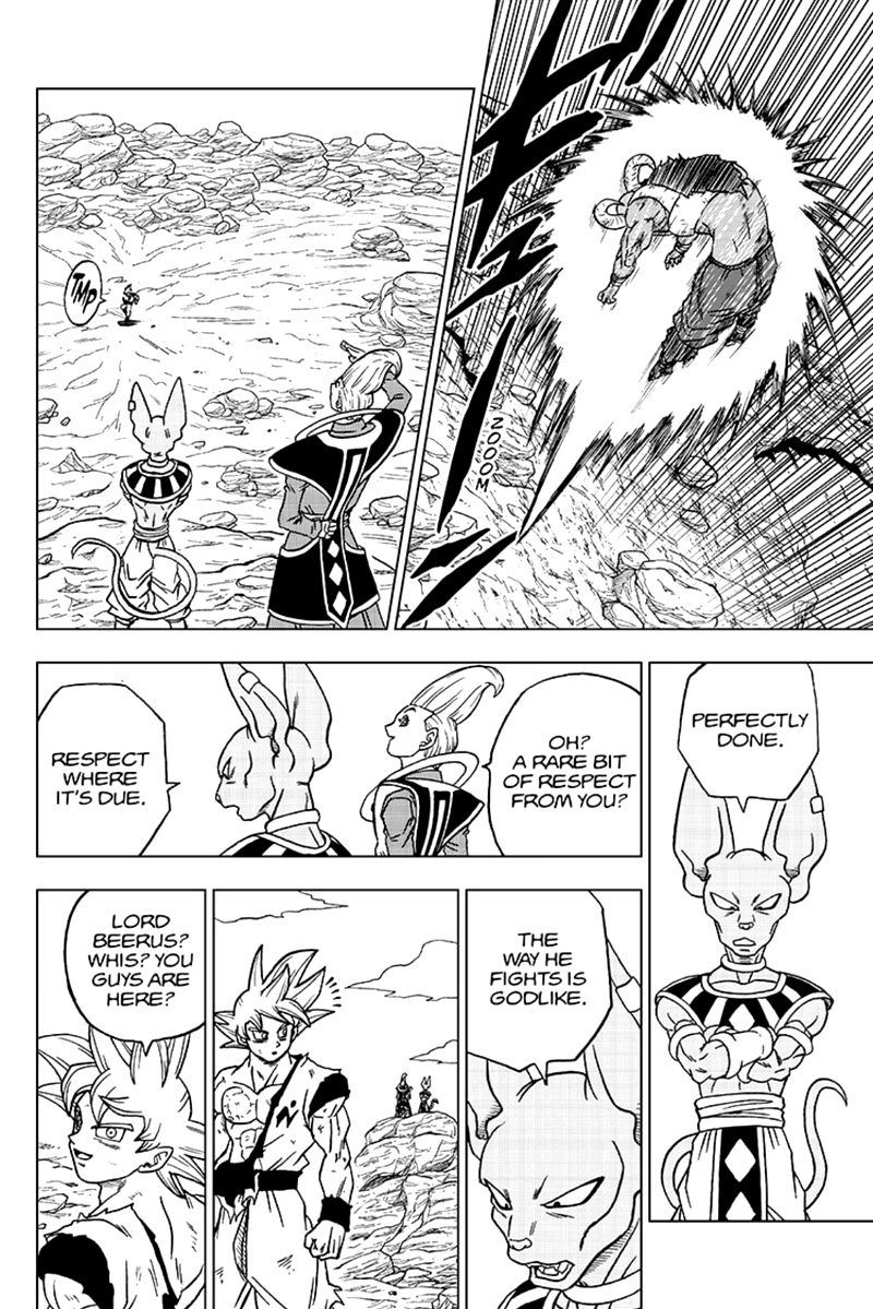 Dragon Ball Super Chapter 64  Online Free Manga Read Image 34