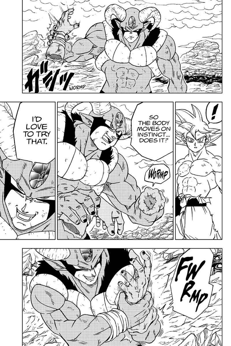 Dragon Ball Super Chapter 65  Online Free Manga Read Image 17