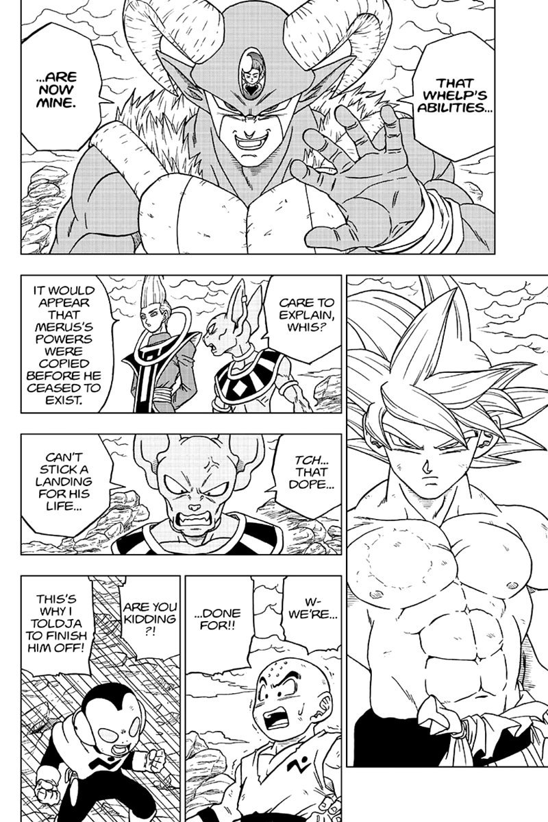 Dragon Ball Super Chapter 65  Online Free Manga Read Image 20