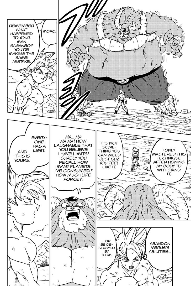 Dragon Ball Super Chapter 65  Online Free Manga Read Image 37