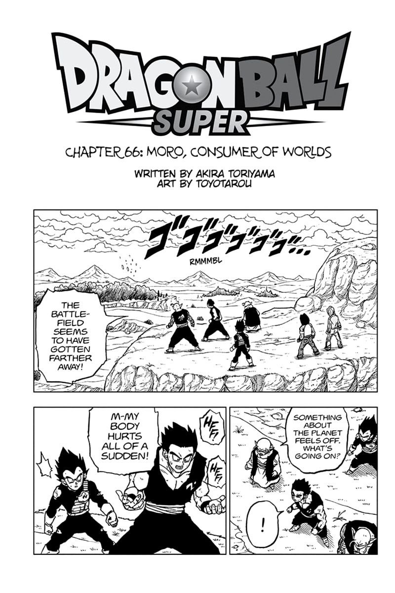 Dragon Ball Super Chapter 66  Online Free Manga Read Image 1