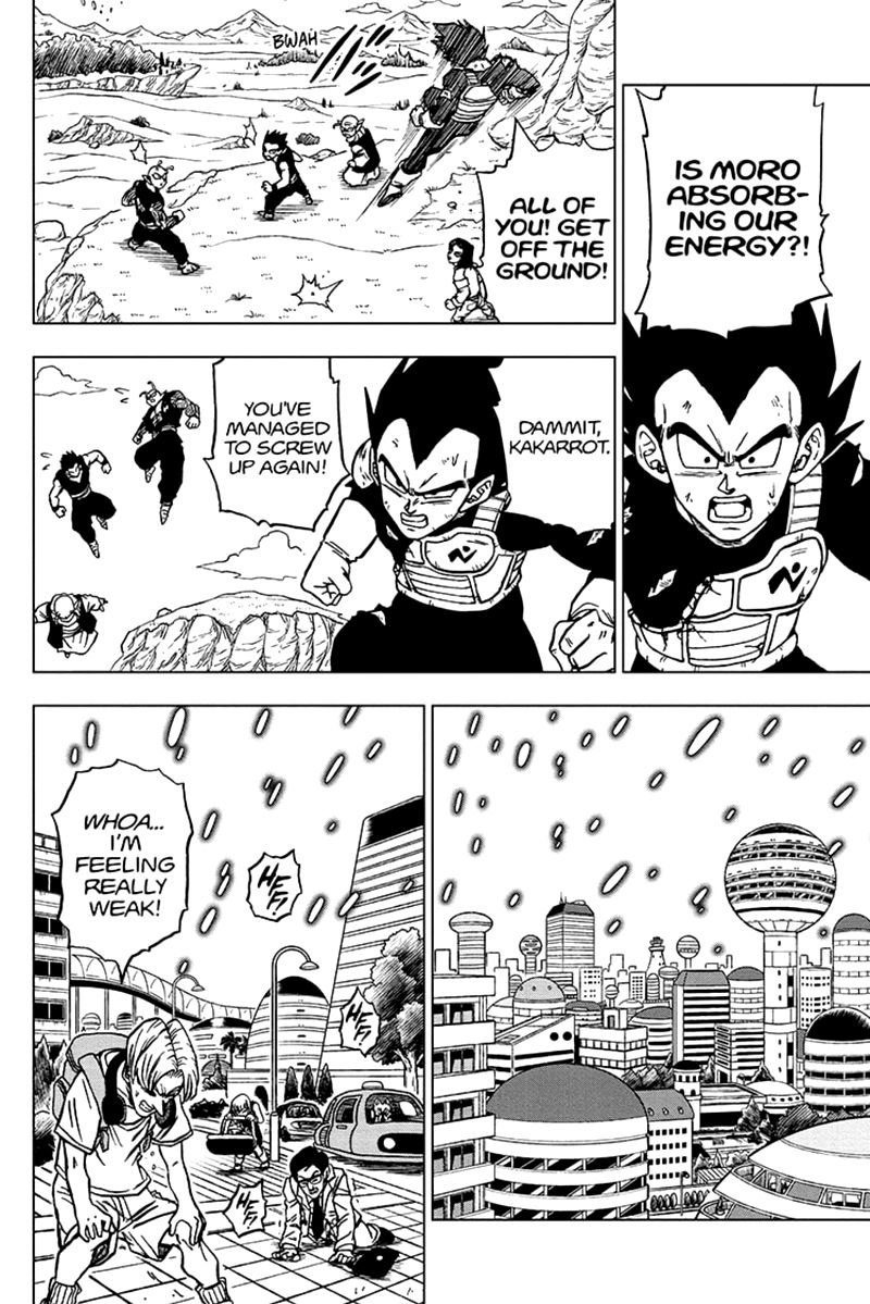 Dragon Ball Super Chapter 66  Online Free Manga Read Image 2