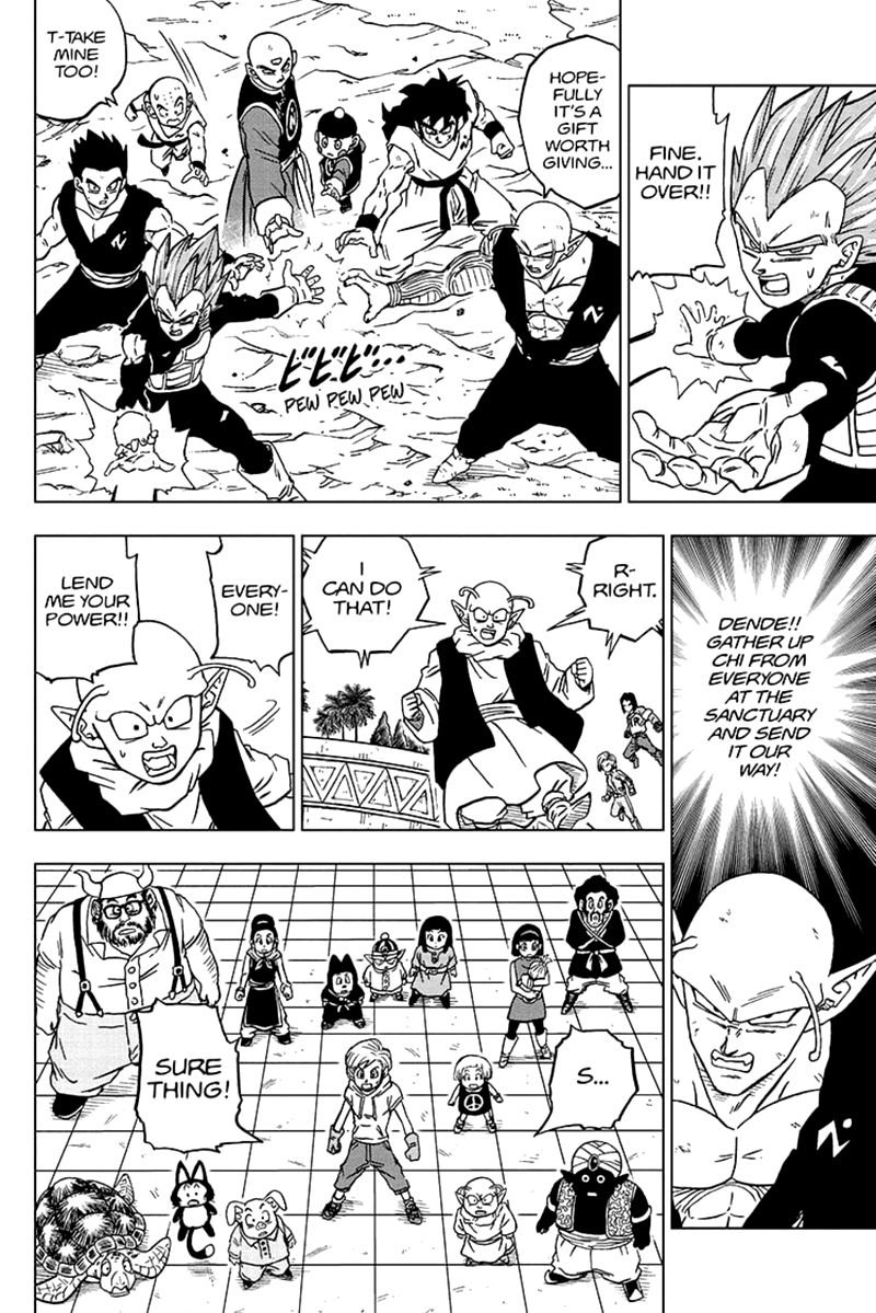 Dragon Ball Super Chapter 66  Online Free Manga Read Image 22