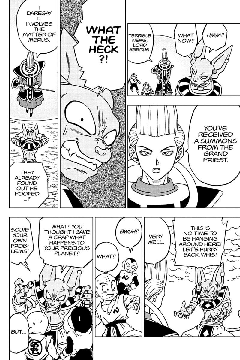 Dragon Ball Super Chapter 66  Online Free Manga Read Image 8
