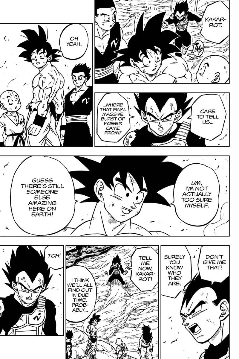 Dragon Ball Super Chapter 67  Online Free Manga Read Image 3