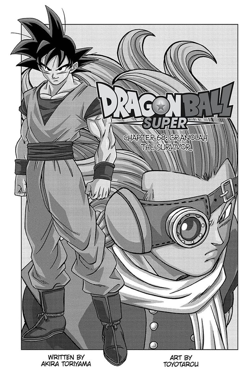 Dragon Ball Super Chapter 68  Online Free Manga Read Image 1