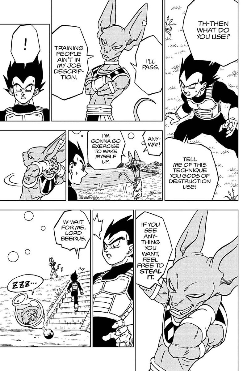 Dragon Ball Super Chapter 68  Online Free Manga Read Image 21