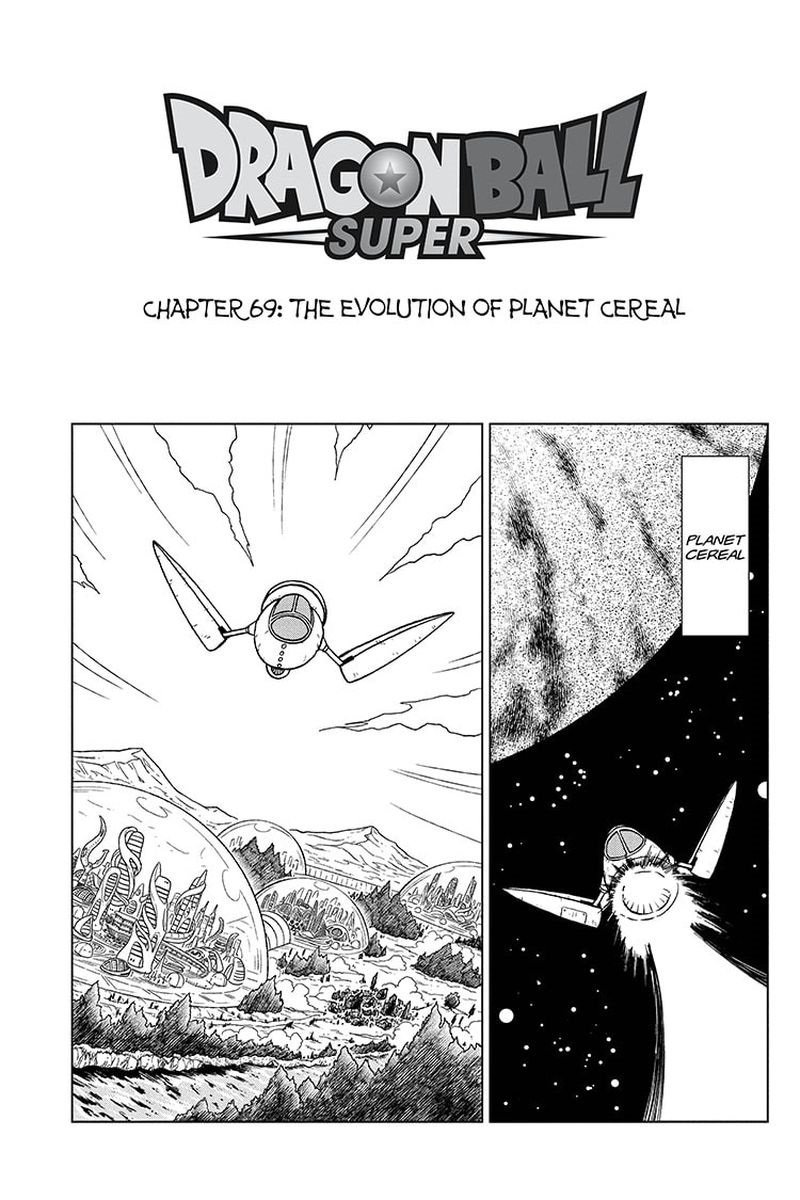Dragon Ball Super Chapter 69  Online Free Manga Read Image 1