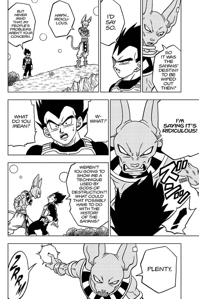 Dragon Ball Super Chapter 69  Online Free Manga Read Image 10