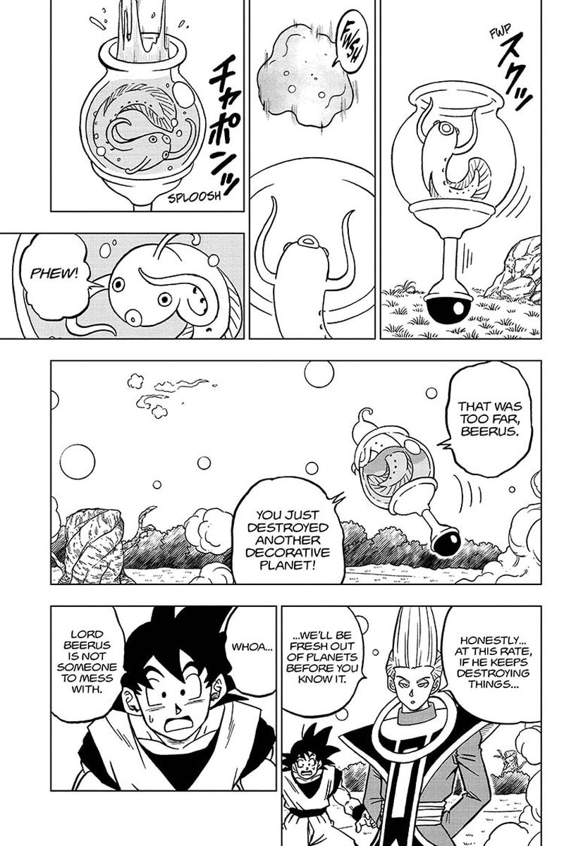 Dragon Ball Super Chapter 69  Online Free Manga Read Image 13