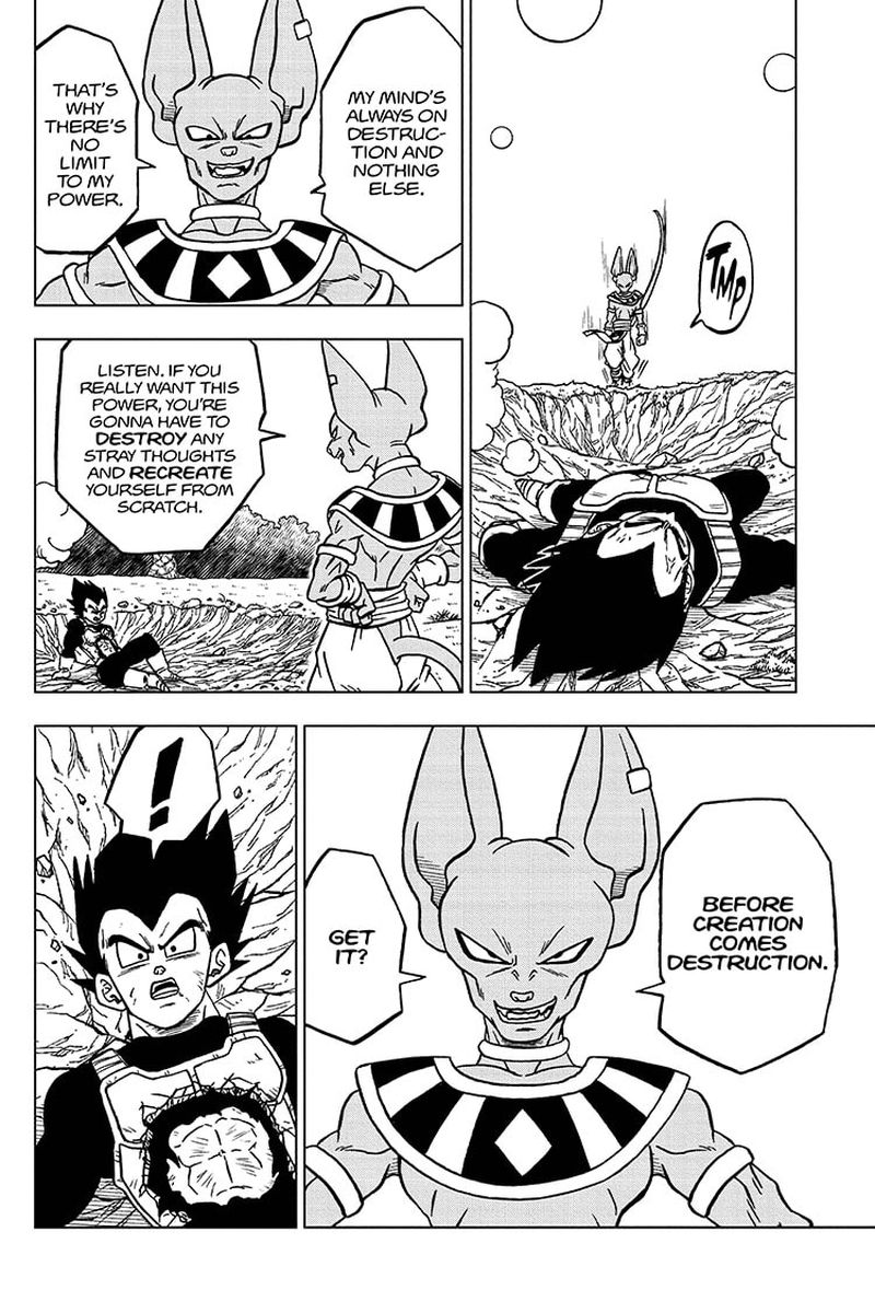 Dragon Ball Super Chapter 69  Online Free Manga Read Image 26