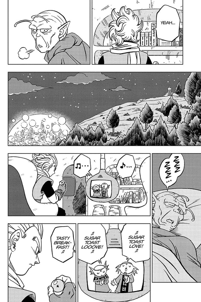 Dragon Ball Super Chapter 69  Online Free Manga Read Image 38